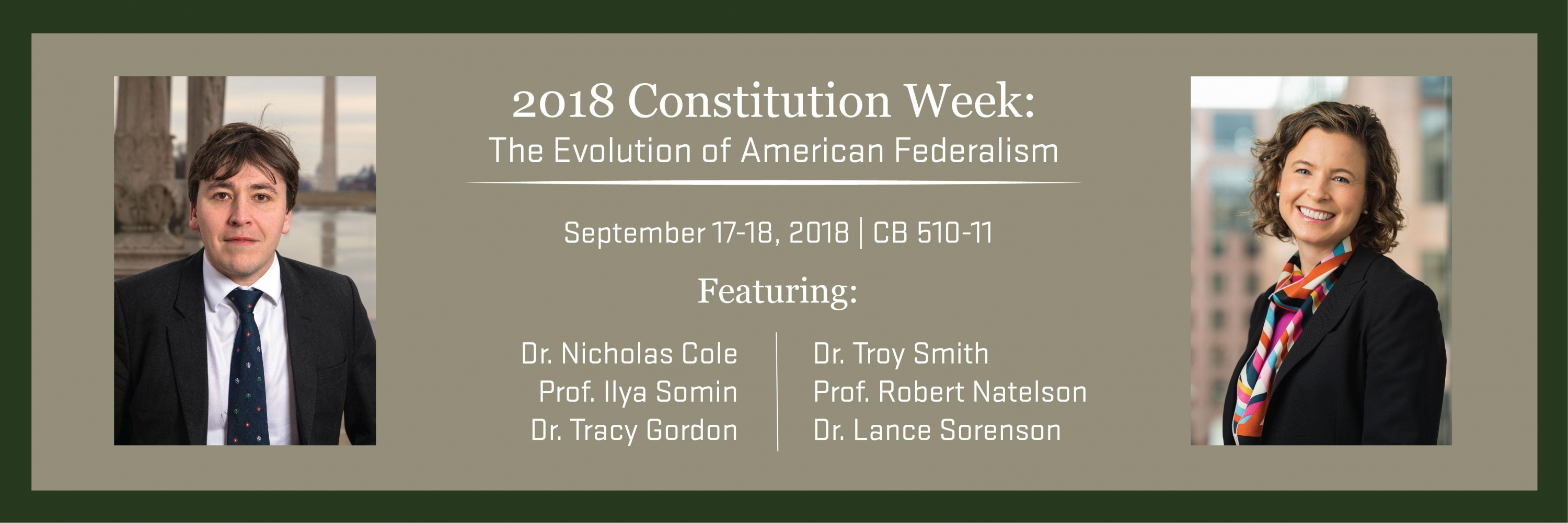 2018 Constitution Week Conference