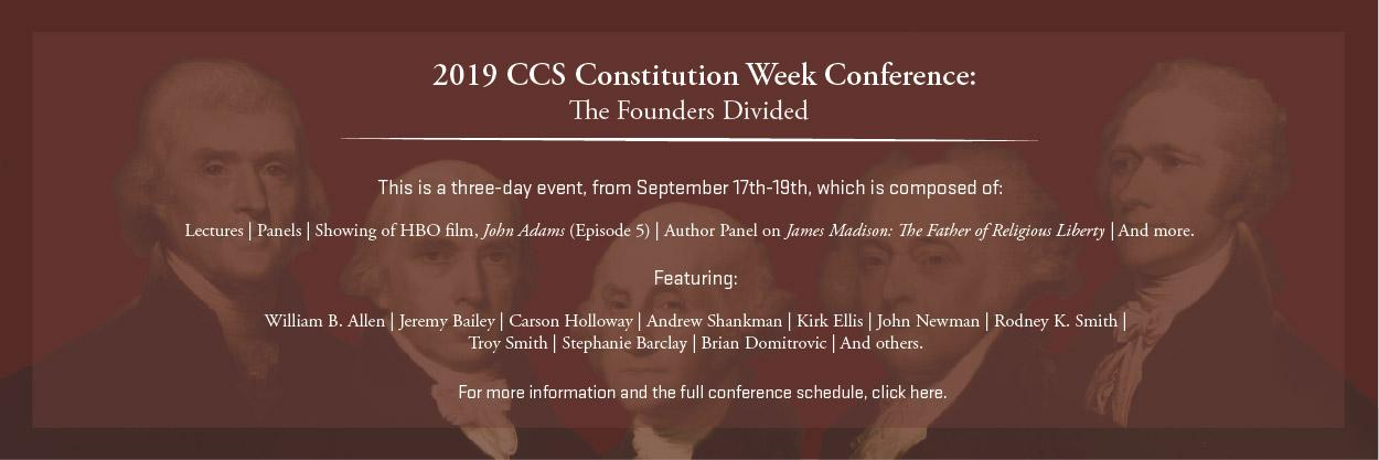 Constitution Week Conference