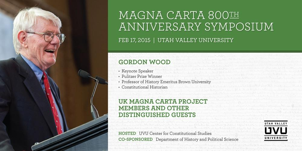 View Highlights from the Magna Carta Symposium