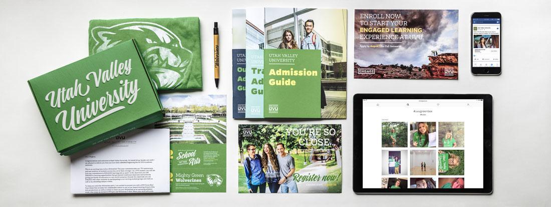 UVU Branding for printed material