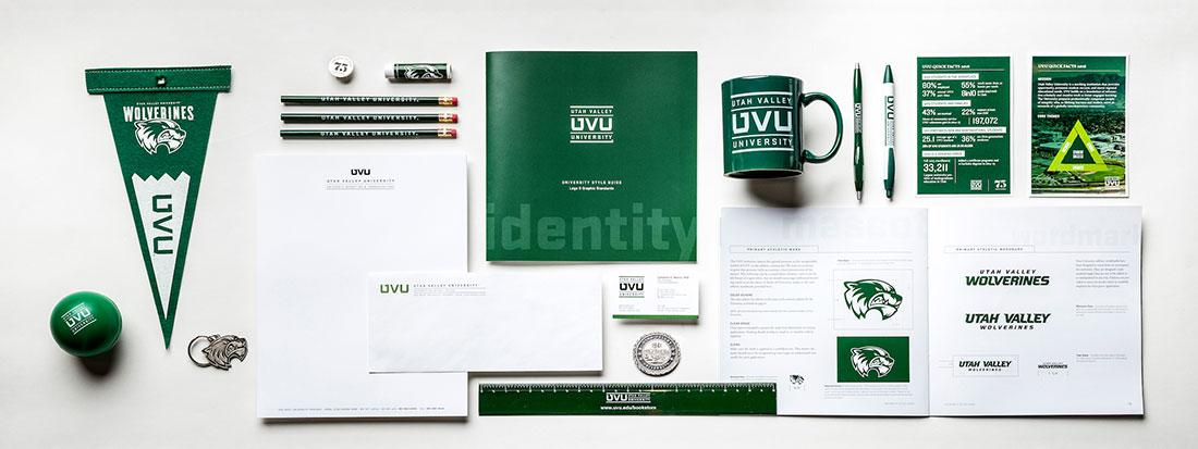 UVU Branding on merchandise