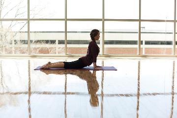 Student Life and Wellness Center dance floors