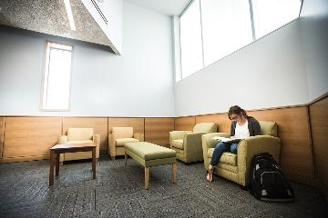 Student Life and Wellness Center study room