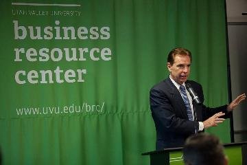 President 5 year Business Resource Center