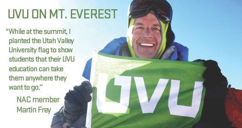 UVU on Mt. Everest