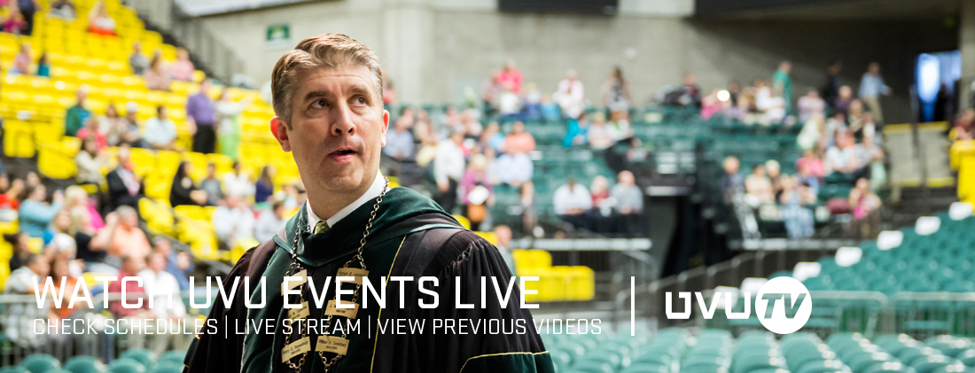Watch UVU Events Live