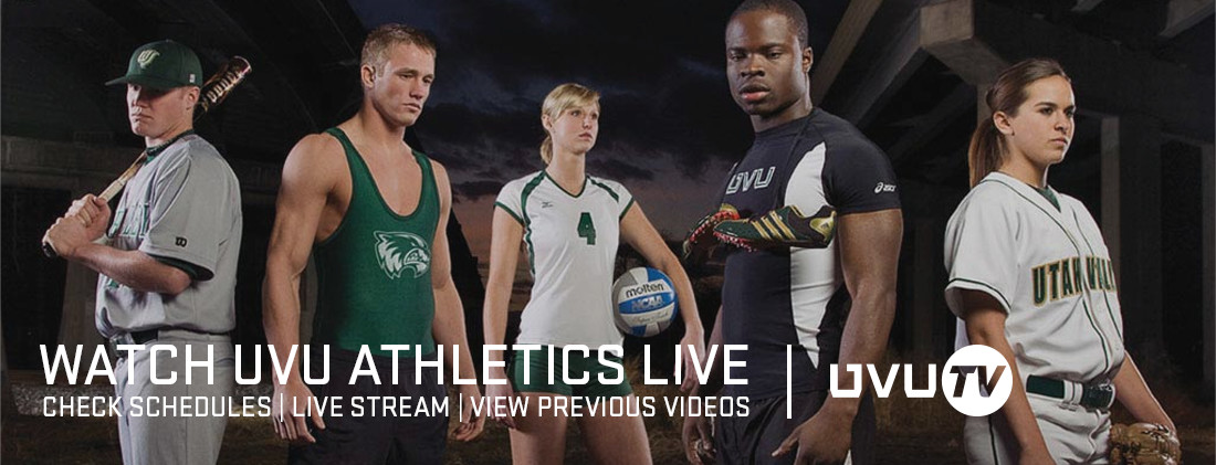 Watch UVU Athletics Live