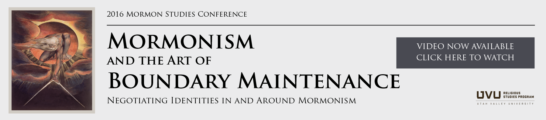 Mormonism and the art of Boundary Maintenance
