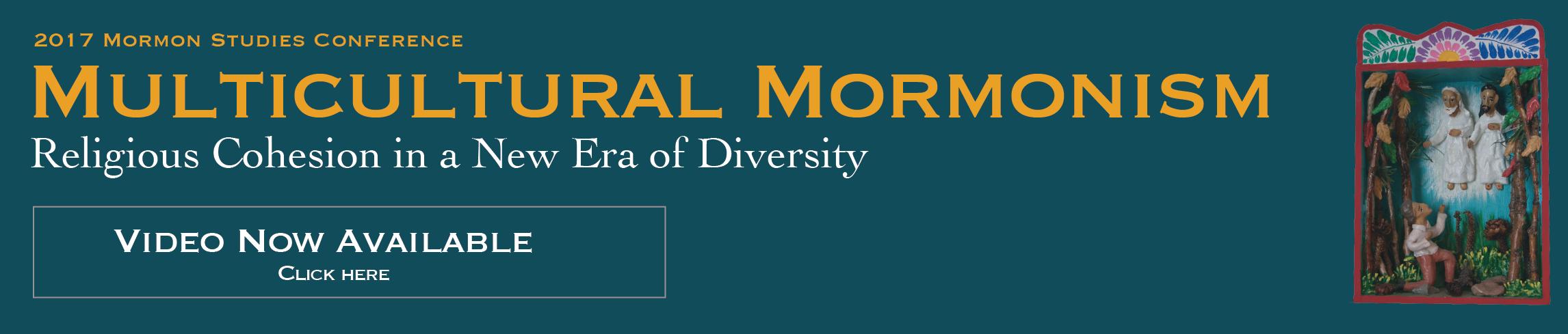 2017 Mormon Studies Conference