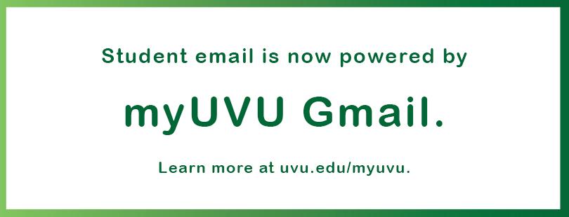 My UVU Gmail