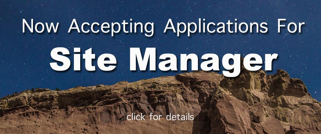 Now Hiring - Site Manager