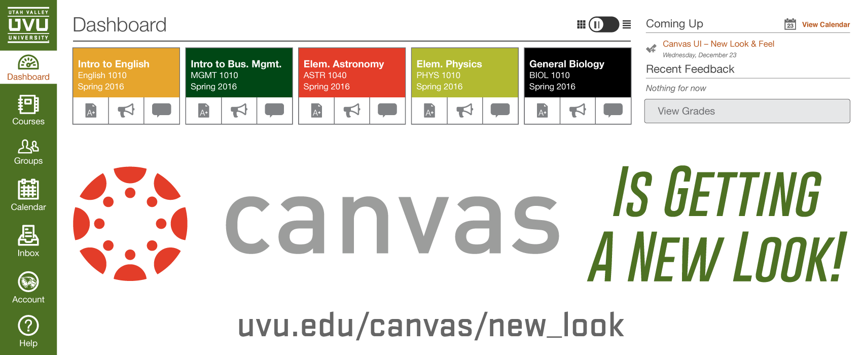 Canvas is getting a new look on December 23rd!