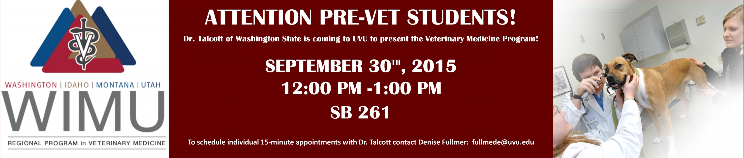 Washington State Pre-Vet Program