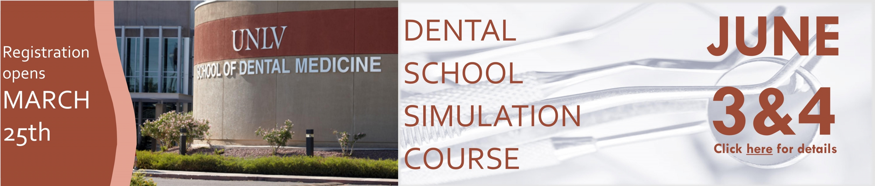 Dental School Simulation Course
