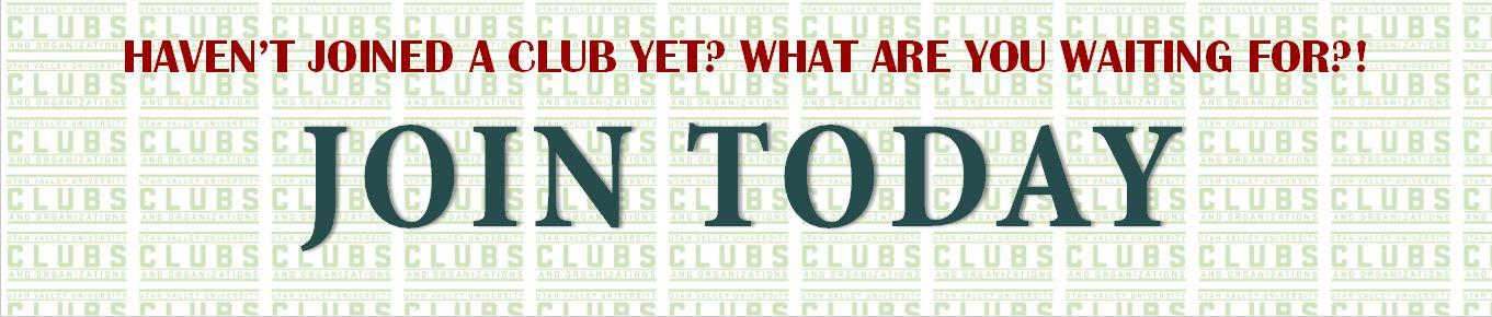 Join a Club today.