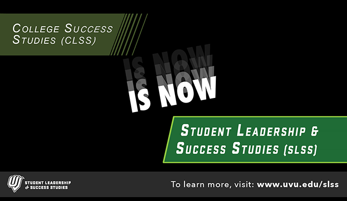Student Leadership and Success Studies