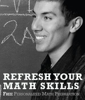 Refresh your math skills