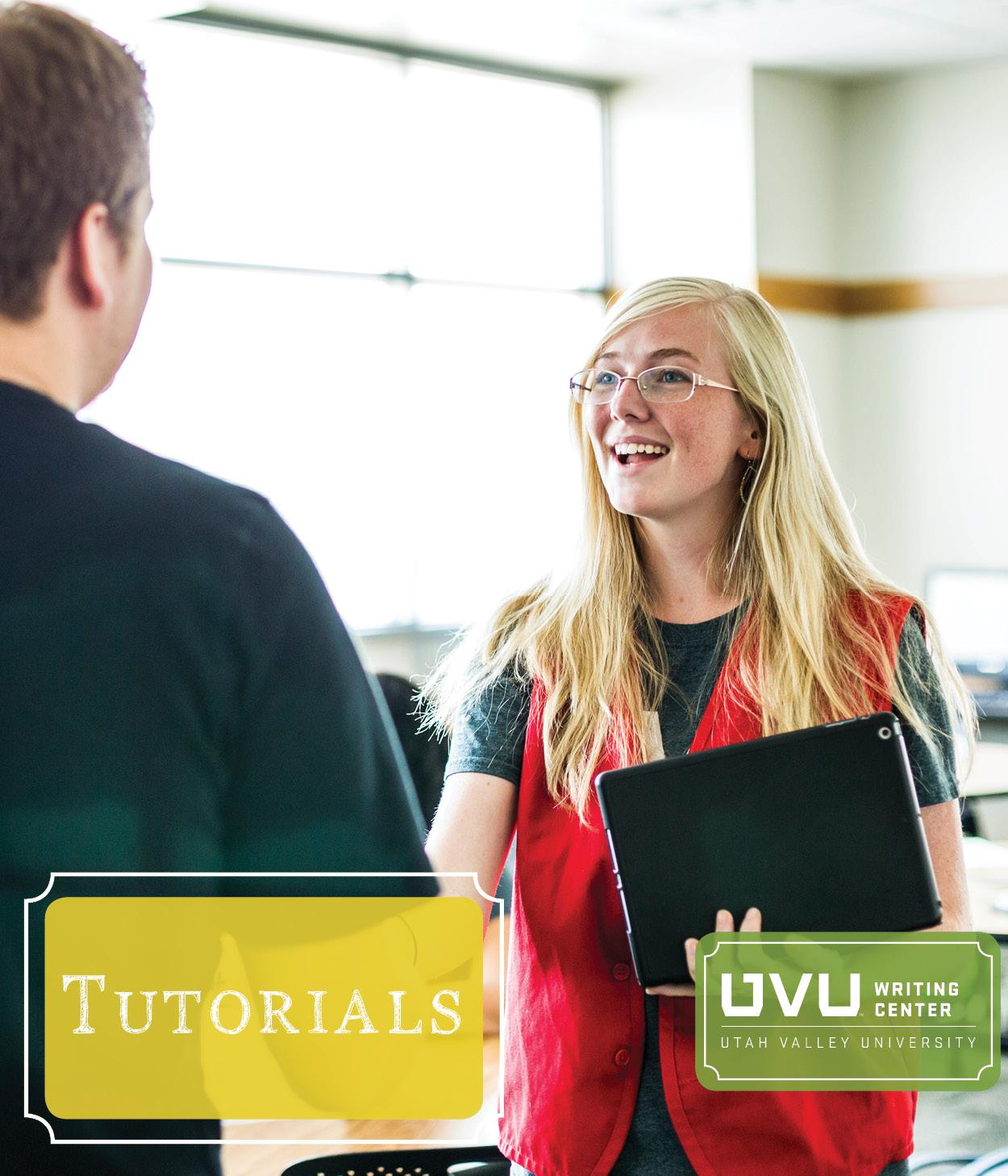 Image of tutor greeting a studentLink to Tutoring Services page