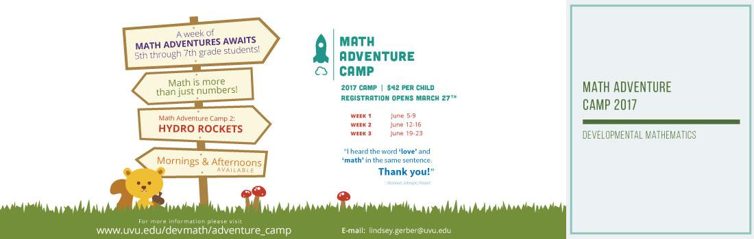 Math Adventure Camp
