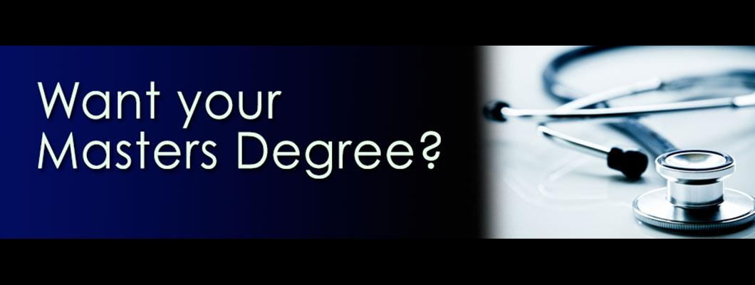 Want your Master Degree?