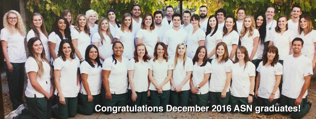 December 2016 ASN Graduates