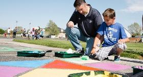 UVU Service Project - Repainting Playground