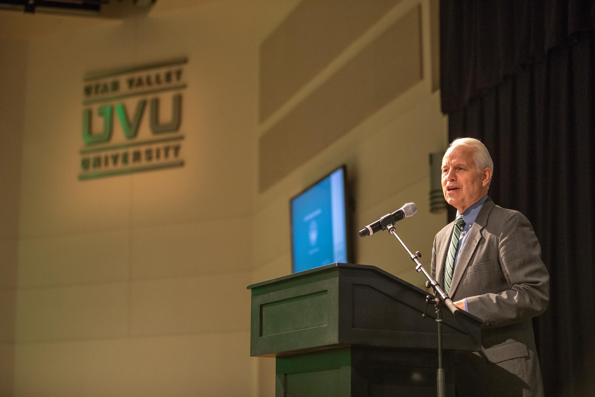 Dr. Olson named interim president