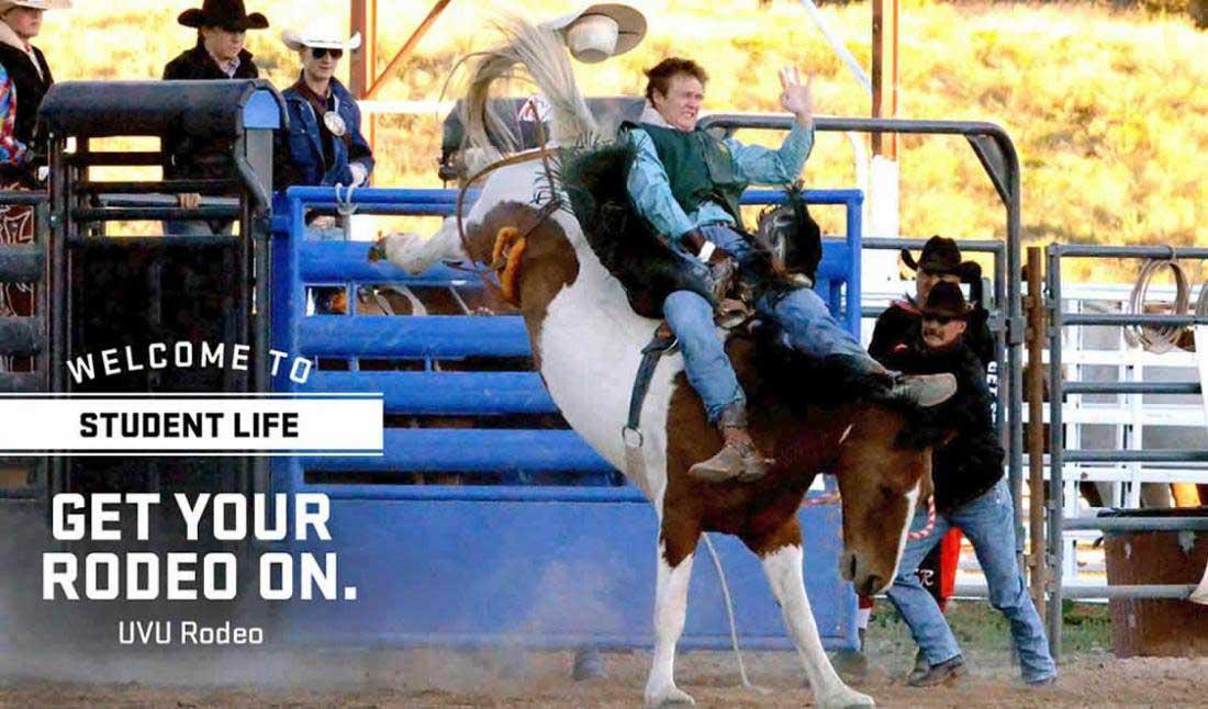 Get your rodeo on - Welcome to Student Life