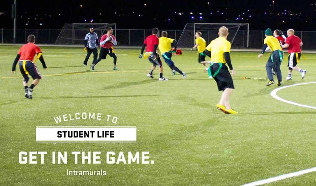 Get in the Game - Welcome to Student Life