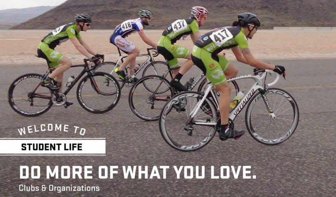 Do more of what you love - Welcome to Student Life