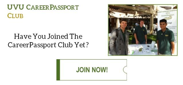 Have you joined the CareerPassport Club yet? Click to join now!