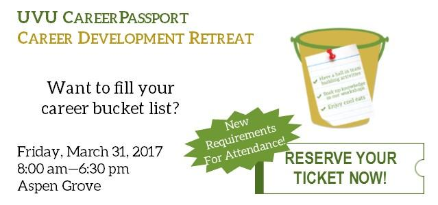 Want to fill your career bucket list? Have a ball in team building activities, soak up knowledge in our workshops, enjoy cool eats, and enjoy a day full of fun and learning! Email Career Passport about the new requirements to attend, and reserve your ticket today!