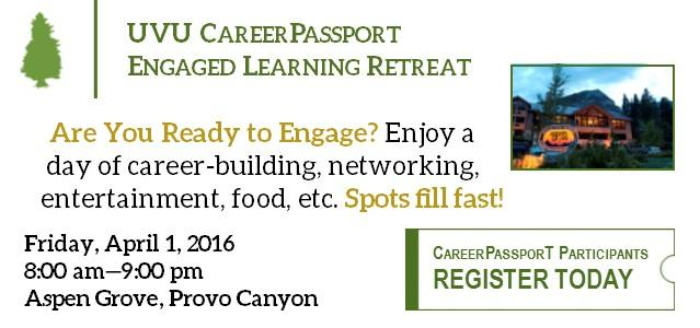Are You Ready to Engage? Enjoy a day of career-building activities, networking, fun entertainment, delicious food, and more on April 1st! Spots fill fast so Register Today!