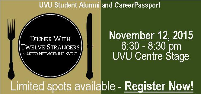 Dinner with 12 Strangers - Seating Limited. Register Now!