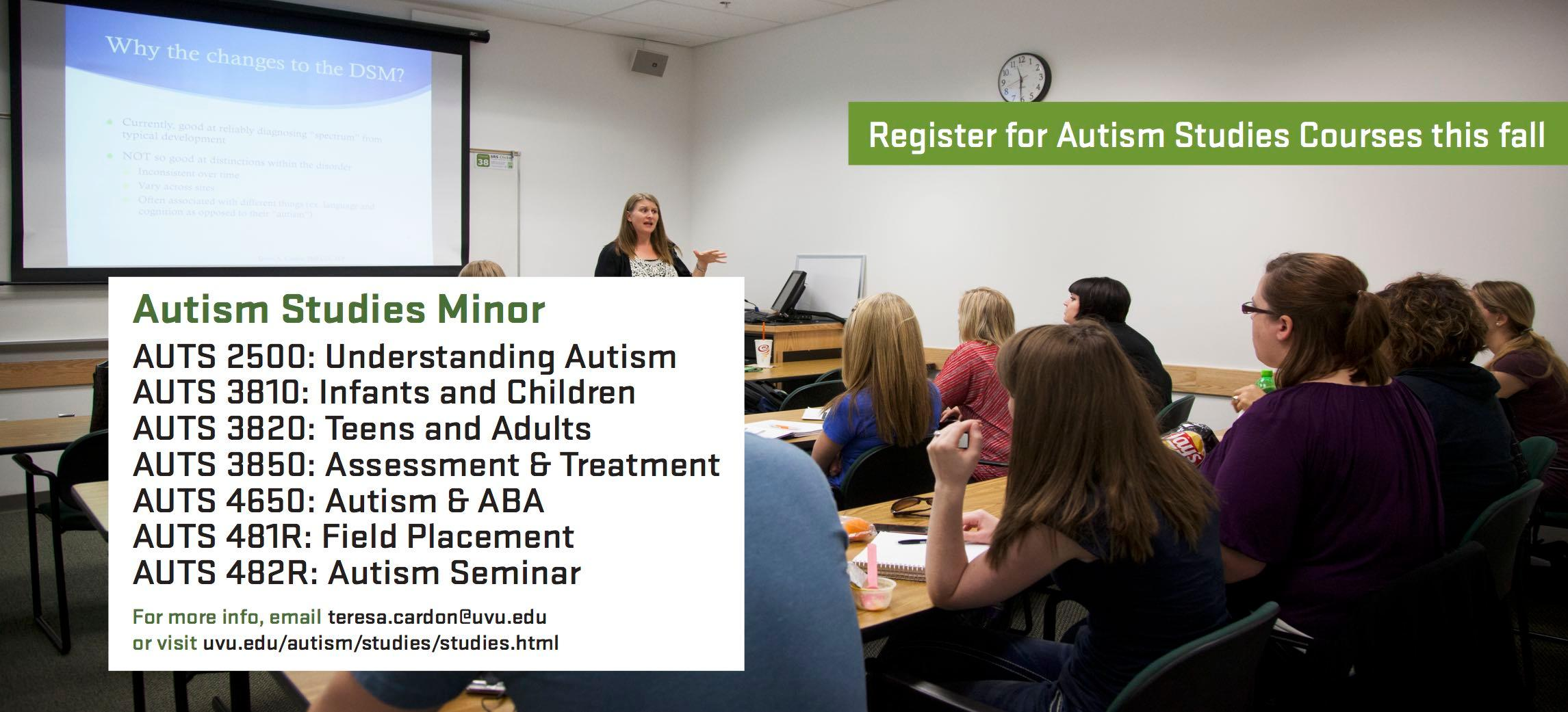 Autism classes