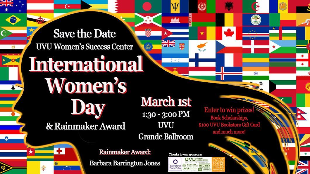 International Women's Day at UVU