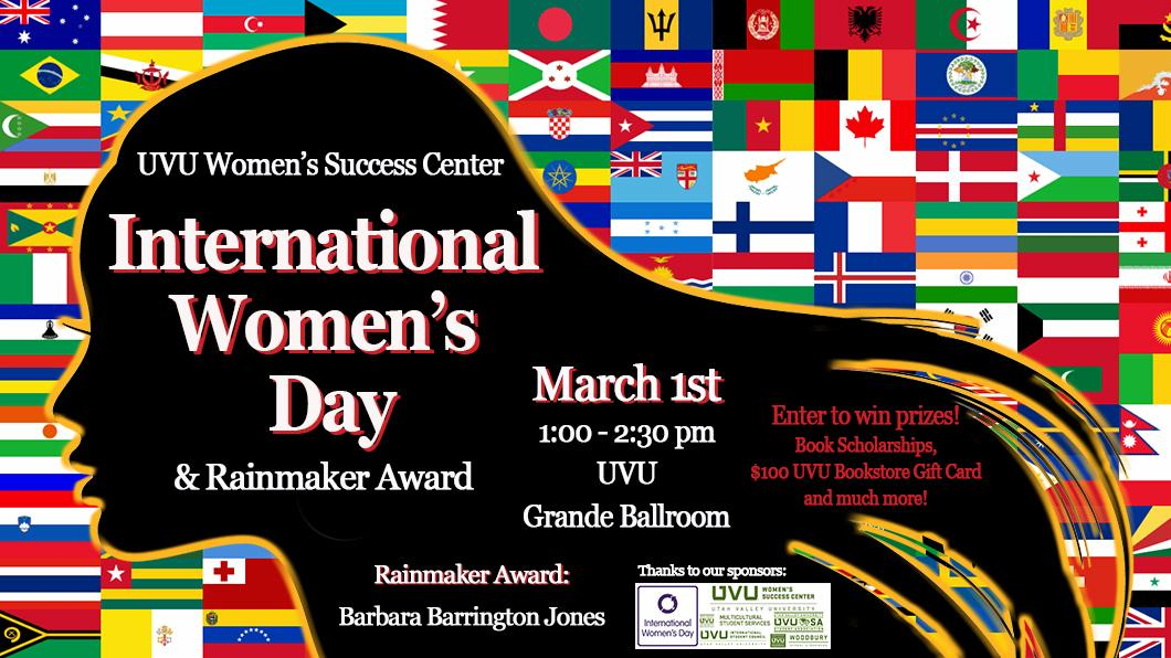 International Women's Day at UVU