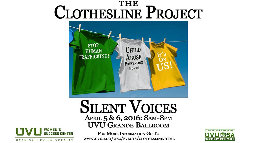 Clothesline Project-Silent Voices