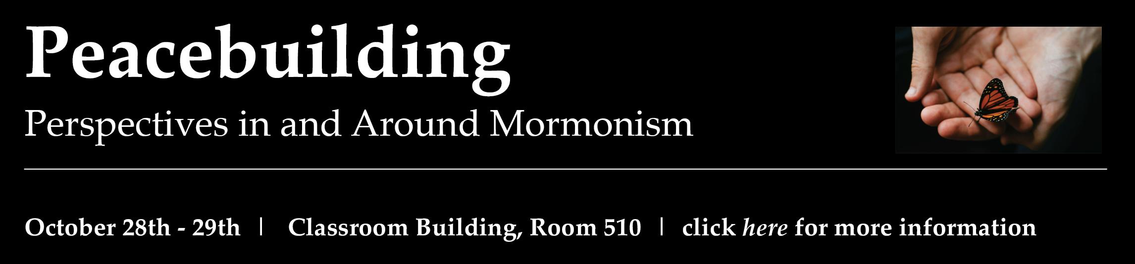 Peacebuilding in and around Mormonism