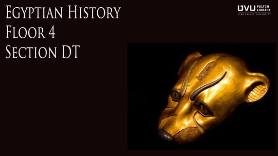 Egyptian artifact. Egyptian history floor 4 section DT.