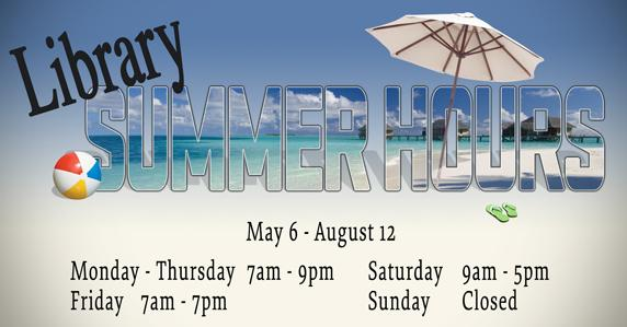 ad for summer hours