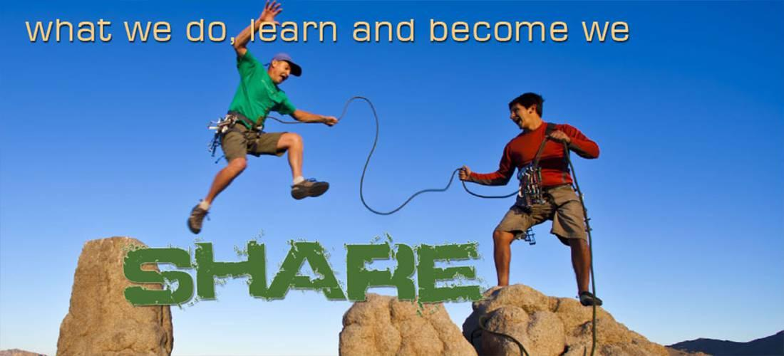 what we do, learn and become we Share