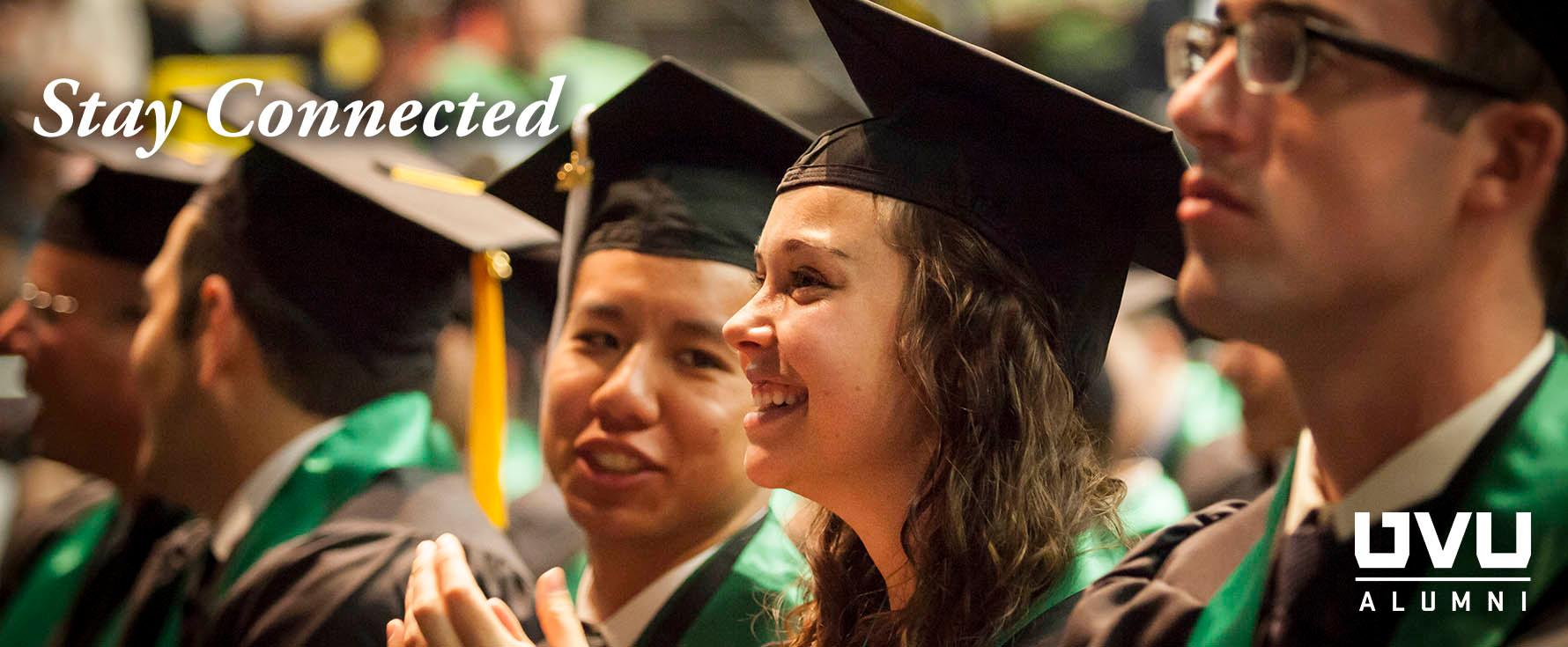 Stay connected with the UVU Alumni Association.