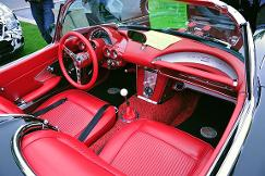 Red front seat