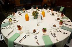 Advisory Board table setting