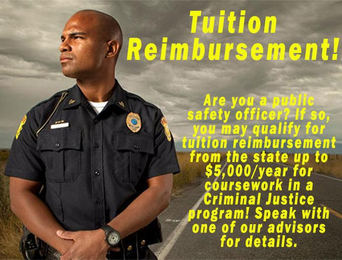 Tuition Reimbursement for Public Safety Officers