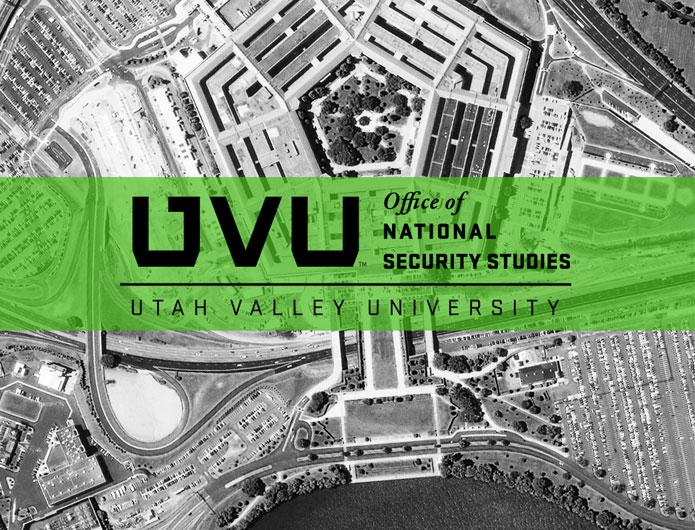 The Office of National Security Studies at UVU
