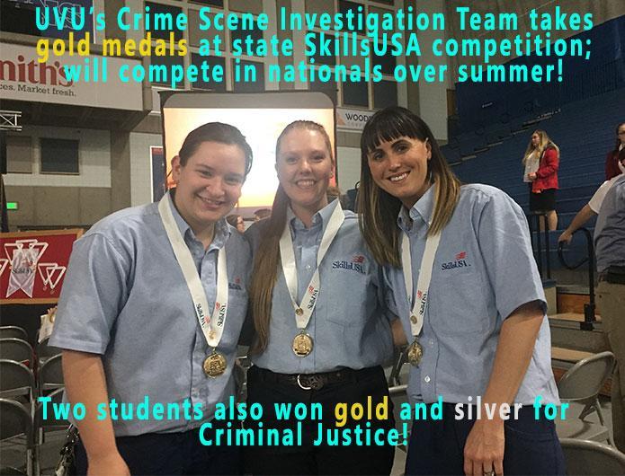 UVU wins 5 medals at skillsusa!