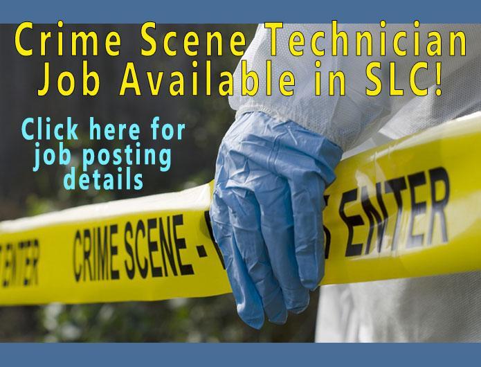 Crime Scene Technician Job Posting