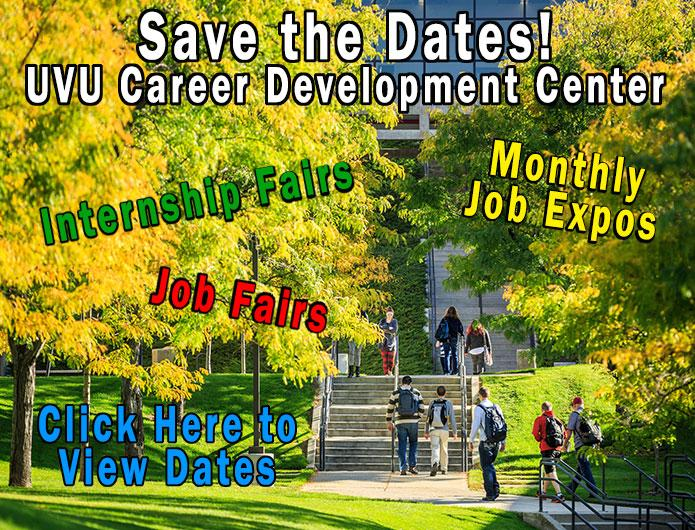 UVU Career Development Center Events